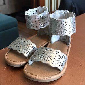 Cat & Jack metallic sandals